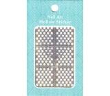 Nail Accessory Hollow Sticker nail templates multicolored wheels 1 sheet 129