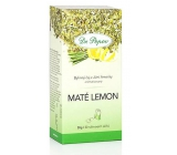 Dr. Popov Maté lemon herbal tea from South America, flavored 30 g, 20 infusion bags of 1.5 g each