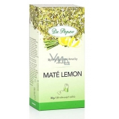 Dr. Popov Maté lemon herbal tea from South America, flavored 30 g, 20 infusion bags á 1.5 g