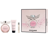 Rochas Mademoiselle Rochas perfumed water for women 90 ml + body lotion 100 ml + perfumed water 7.5 ml, gift set