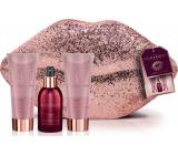 Baylis & Harding Cranberry Martini body spray 100 ml + shower gel 100 ml + body lotion 100 ml + evening envelope, cosmetic set