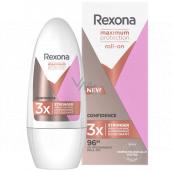 Rexona MaxPro Confidence antiperspirant deodorant roll-on maximum protection for women 50 ml