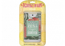 Albi Disinfection in a pocket with the scent of lemon Exceptional woman 15 ml
