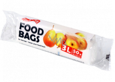 Folifix Food Bags Microtene bags white 3 liters, 25 x 35 cm 50 pieces