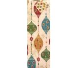 Nekupto Gift paper bottle bag 33 x 10 x 9 cm light flask 894 01 WLH
