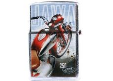 Bohemia Gifts & Cosmetics Retro gasoline lighter with imprint Motorcycle Jawa 5,5 x 3,5 x 1,2 cm