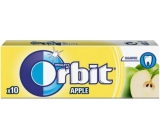 Wrigleys Orbit Sugar-Free Apple Gum Fruit Dragees 10 pieces 14 g
