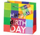 BSB Luxury gift paper bag 23 x 19 x 9 cm Happy Birthday LDT 290-A5