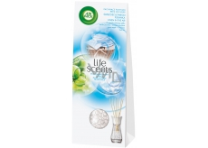 Air Wick Reed Diffuser Life Scents Linen in the Air - Linen in the breeze incense sticks air freshener 30 ml