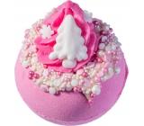 Bomb Cosmetics Pink Christmas Sparkling ballistic bath 160 g
