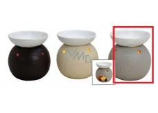 AROMALAMPA ceramic 105x115 light beige Flask 4065