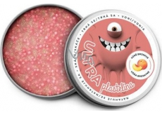 EP Line Plasticine with fragrance and glitters 80g - peach
