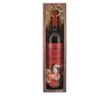 Bohemia Gifts Merlot of Love - With you is the world of more beautiful gift red wine 750 ml