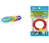 Trixline Mosquito Repellent waterproof bracelet - mosquito net with citriodiol 1 piece, TR 351 random color selection