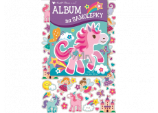 Album for stickers hologram for girls 16 x 29 cm + 40 pieces of stickers
