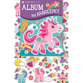 Album for hologram stickers for girls 16 x 29 cm 40 pieces