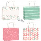 Gift paper bag 15 x 12 x 5.5 cm various motifs