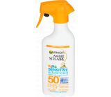 Garnier Ambre Solaire Kids Sensitive SPF50 + sunscreen spray 300 ml
