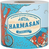 Harmasan toilet paper 400 pieces 1 ply 1 piece