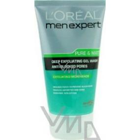 Loreal Paris Men Expert Pure & Matte cleansing peeling gel 150 ml