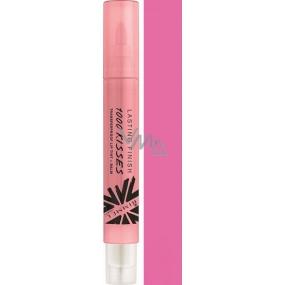 Rimmel London Lasting Finish 1000 Kisses Lip Gloss 300 Perpetual Plum 4 ml
