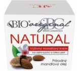 Bione Cosmetics Almond original natural nourishing almond cream very dry and sensitive skin 51 ml