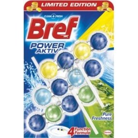 Bref Power Aktiv 4 Formula Pure Freshness WC block 3 x 50 g