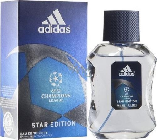 adidas uefa champions league star edition eau de toilette. Black Bedroom Furniture Sets. Home Design Ideas