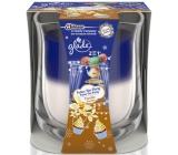 Glade by Brise 2v1 Velvet Tea Party & Vanilla vonná svíčka ve skle 135 g