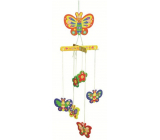 Wooden rocking puzzle 01 Butterflies for hanging 20 x 15 cm