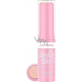 Miss Sports Really Me! Second Skin Effect Foundation Rigid Makeup 001 Really Ivory 7 g