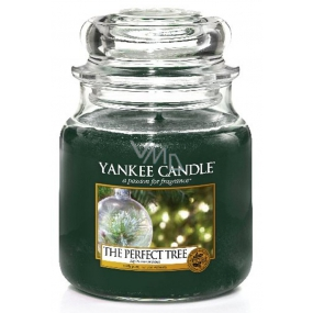 Yankee Candle Perfect Tree scented candle Classic medium glass 411 g