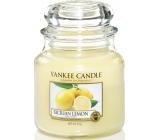 YANKEE CANDLES fragrant Sicilian Lemon Classic Medium 9101