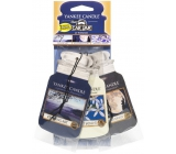 Yankee Candle Car Fragrance Set of 3pcs Evening Stroll 9785 paper tags