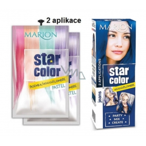 Marion Star Color Jeans Washable Hair Color - Blue jeans 2 x 35 ml