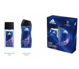 Adidas UEFA V 75 ml men's deodorant spray + 250 ml men's shower gel