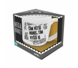 Albi Megahrnek The larger the mug, the higher IQ 650 ml
