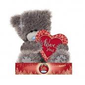 Me to You Teddy Bear Christmas Heart 14 cm