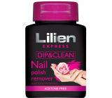 Lilien Express Quick & Easy Acetone-free nail polish remover with a 75 ml sponge