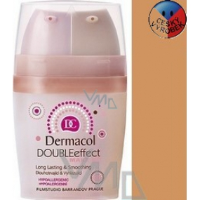 Dermacol Double Effect Makeup 03 2 x 15 ml