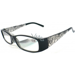 Berkeley Reading Prescription Glasses +1.0 Black Retro CB02 1 piece ER510