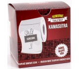 Albi Funny toilets with Kamasutra, 20 meters of luxury, Gift toilet paper