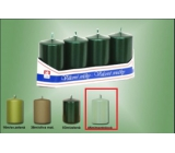 Lima Candle plain metal menthol cylinder 40 x 70 mm 4 pieces