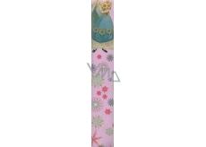 Ditipo Disney Vánoční balicí papír dětský Frozen růžový 2 m x 70 cm