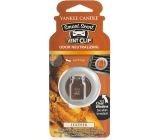 Yankee Candle Leather - Leather scented clip for ventilation