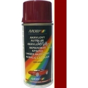 Motip Škoda Acrylic Car Paint Spray SD 8290 Red romantic 150 ml