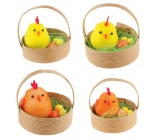 Chickens in a basket 5 cm, 2 pcs 1 basket