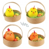 Chickens in a basket 5 cm, 2 pcs 1 cup