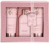 Baylis & Harding Jojoba, Vanilla and Almond oil washing gel 300 ml + shower cream 200 ml + body lotion 200 ml, cosmetic set