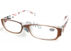 Diop.plastic glasses + 4 orange-brown sides with MC2084 rectangles